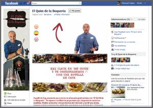 El Quim de la Boquería - aplicación de facebook