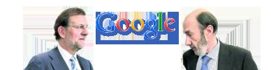 Rubalcaba Vs Rajoy según Google