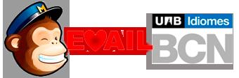 Mailchimp love UAB Idiomes Barcelona