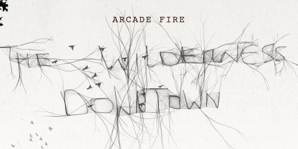 Arcade Fire Google Maps