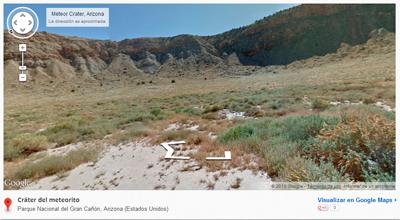 Cráter Meteorito Parque Nacional del Gran Cañón, Arizona (Estados Unidos)