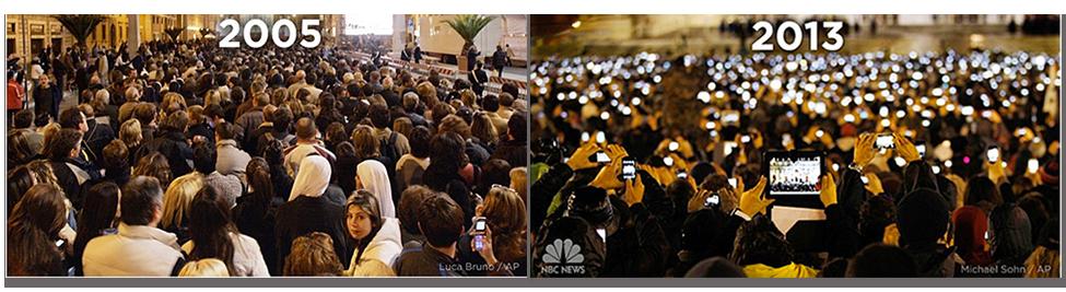 Los conciertos en directo-. antes y ahora