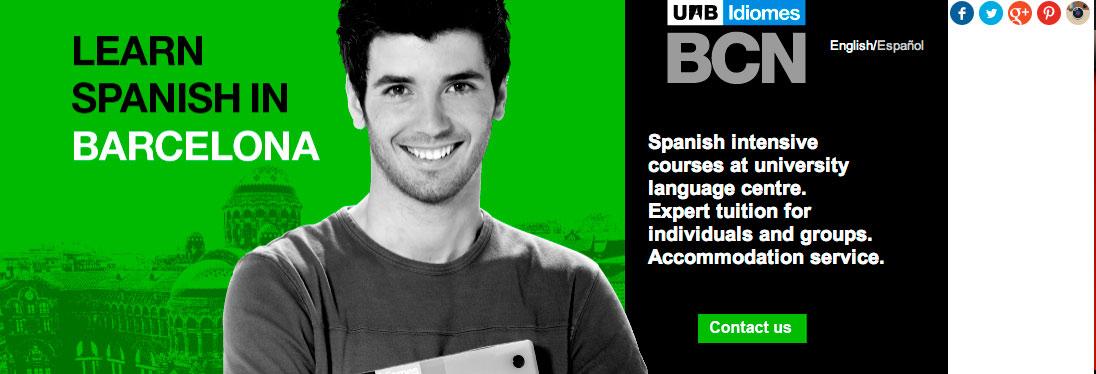 UAB Idiomes Spanish