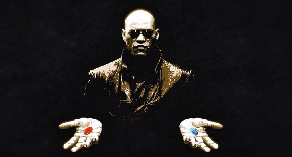 La pastilla roja de Matrix